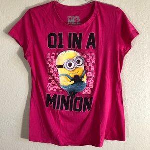 3 for $20. Minion print shirt